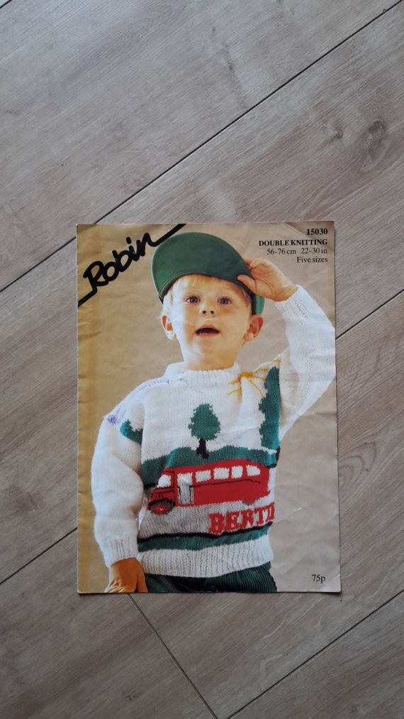 James The Fat Controller Jumper Sweater Knitting Pattern 13628