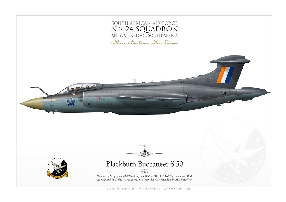 Buccaneer S 50 Saaf No 24 Sqdn Ik 139 South African Air Force Air Force Day British Aircraft