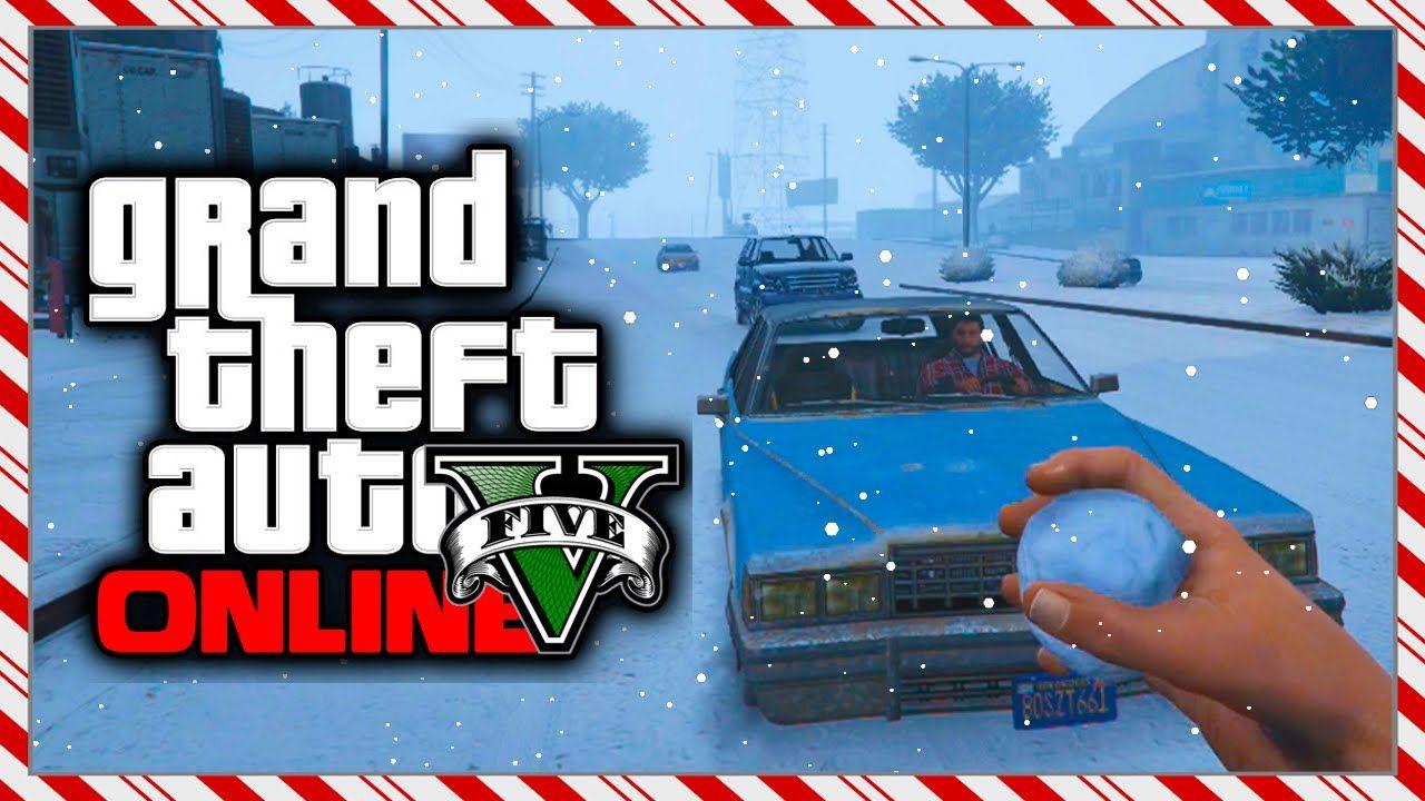 gta 5 christmas dlc snow is back in gta online thank you - Gta V Christmas