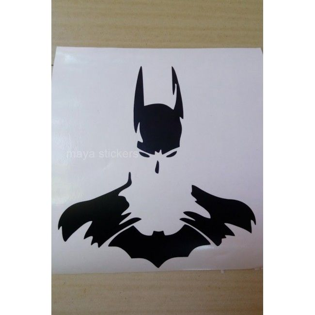 Buy Batman Unique Die Cut Vinyl Decal  Sticker Online In India - Batman vinyl decal stickers