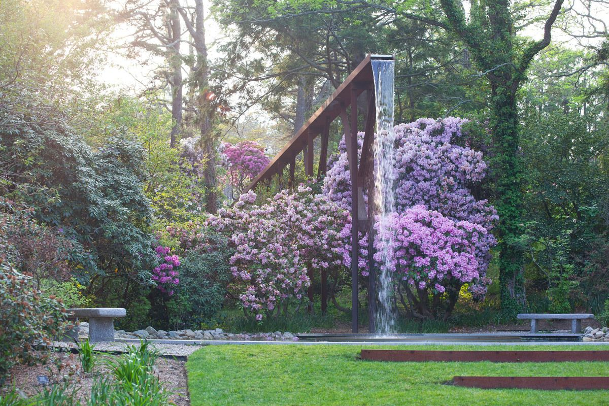 The Gardens 100 Acres Of Natural Beauty Water Features In The