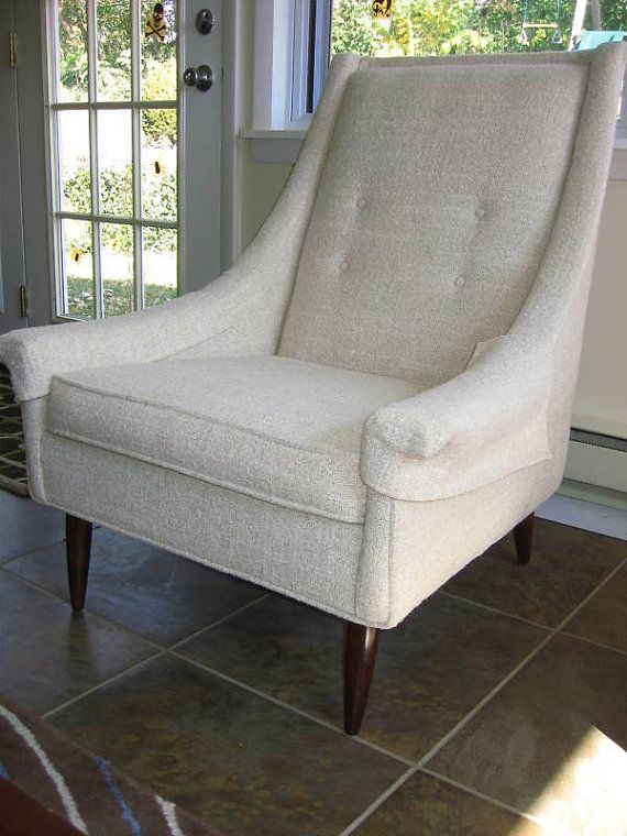 Mid Century Lounge Chair  by LuckyAlley on Etsy, $750.00