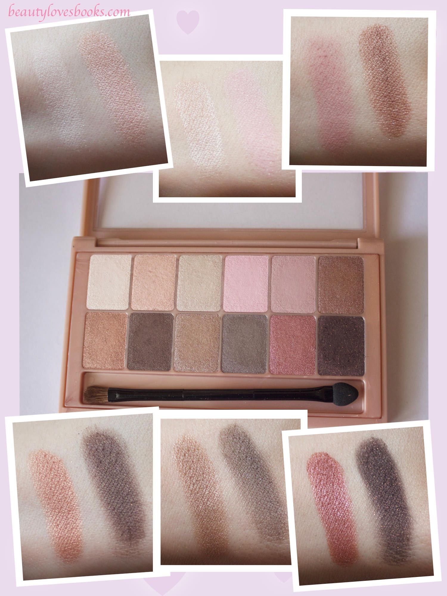 Maybelline The Blushed Nudes Palette - Review And Swatches -3462