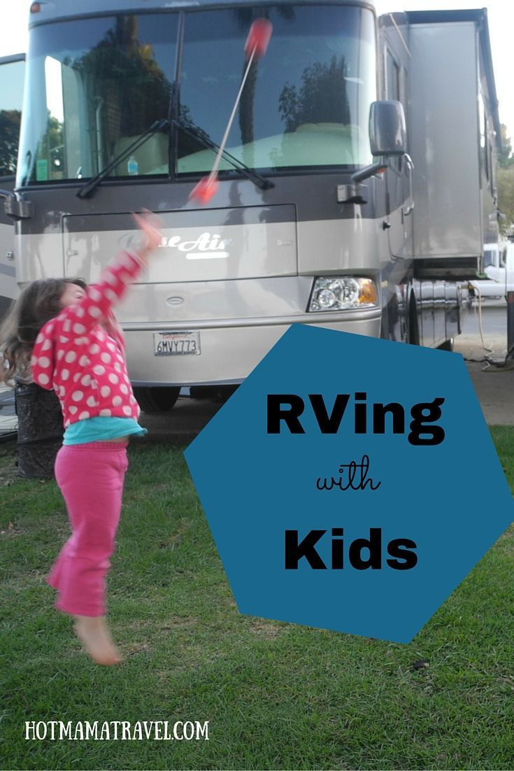 When the weather gets warm, it is time to get out there and see the country with your kids in an RV! Here are my tips!