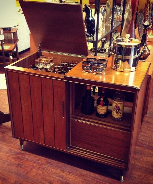 repurposed stereo cabinet | found-vintage living | Pinterest ...