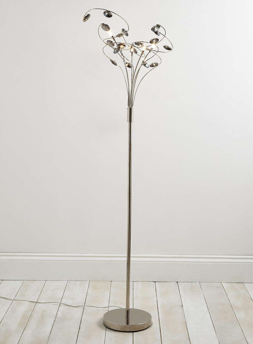 Smoke Lila Floor Lamp - BHS | luces | Pinterest | Bhs and Floor lamp