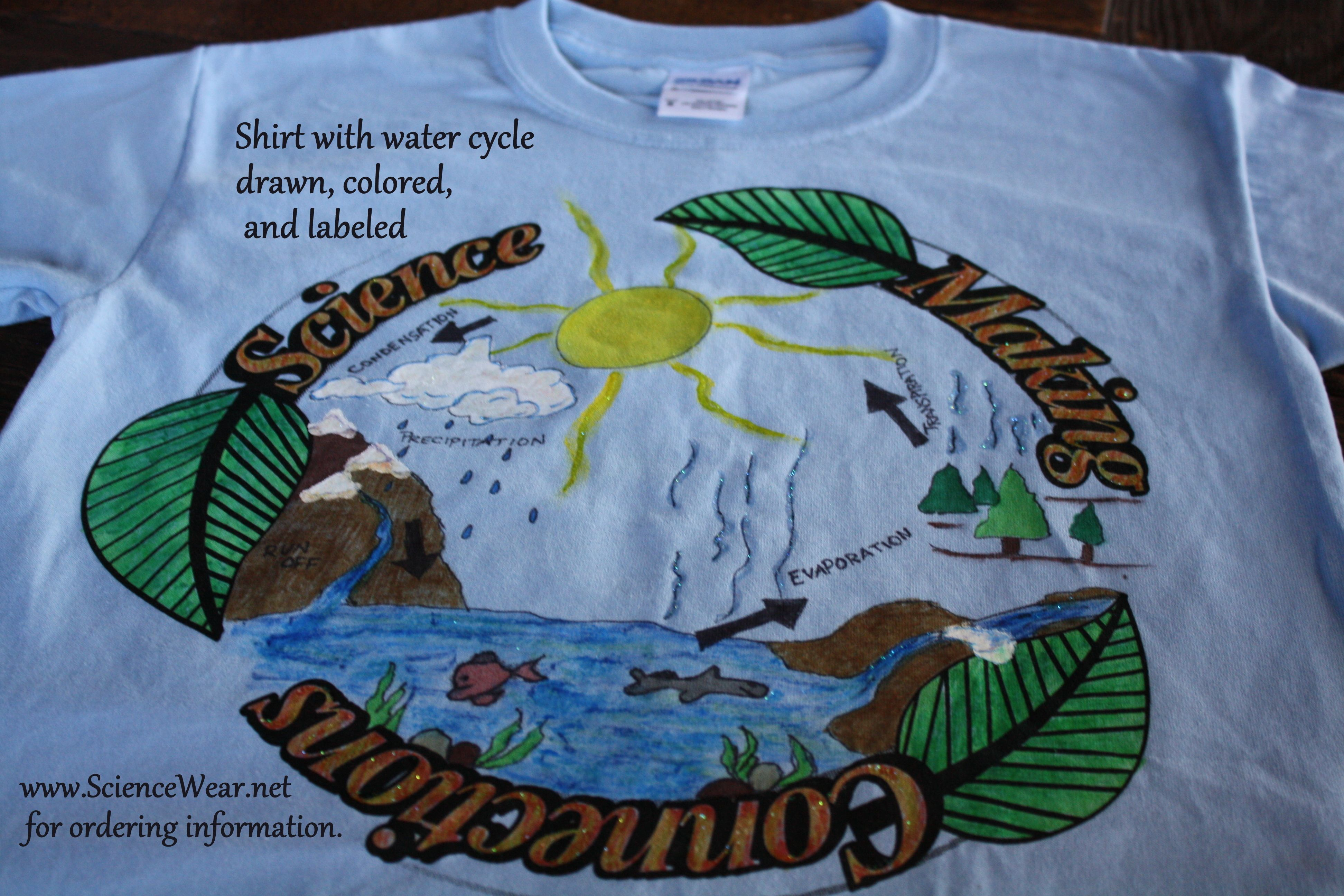 Water Cycle Wearable Shirts Are Only 5 And Shipping Is