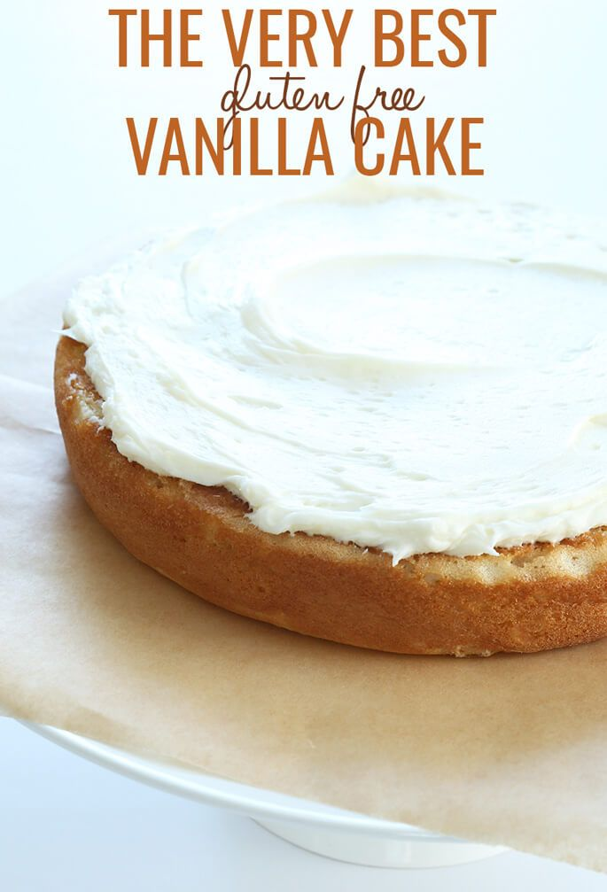 The Very Best Gluten Free Vanilla Cake Recipe The Very Best Gluten Free Vanilla Cake Recipe Gluten Free Recipes gluten free vanilla cake