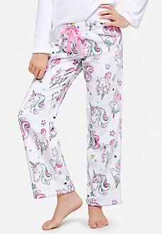 unicorn fleece pajama pants  e8db8cdd5