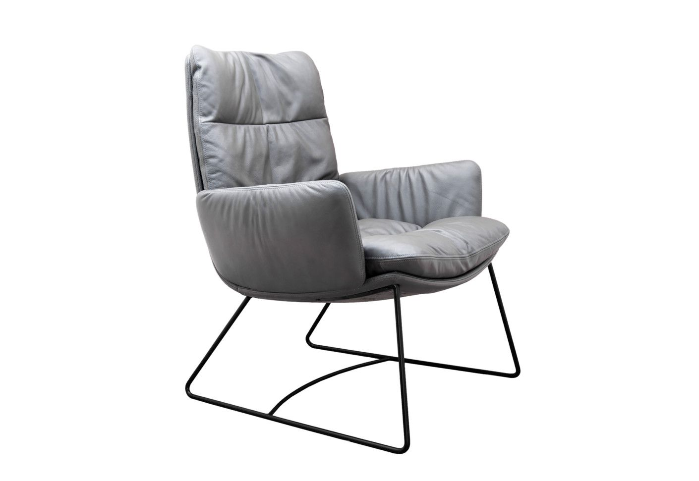 Armchairs Arva Lounge Armchair With Skids By Kff At Stylepark Lounge Design Sessel