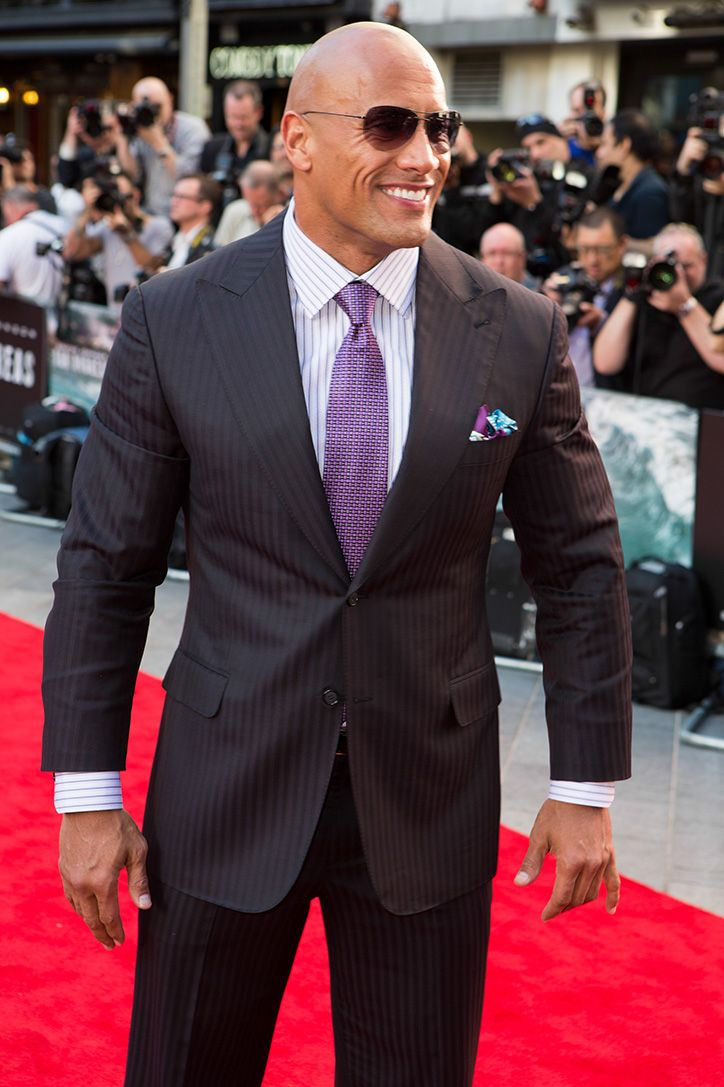 Dwayne Johnson at the #SanAndreas World Premiere in London ...
