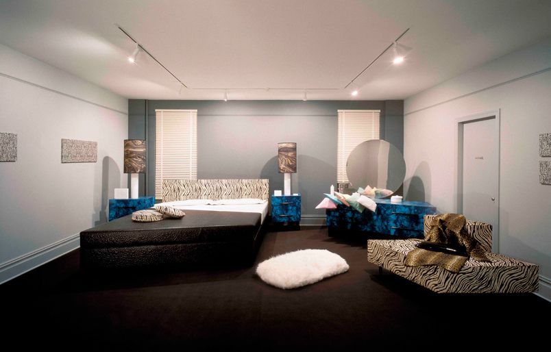 Exhibition Room D : Claes oldenburg bedroom ensemble replica