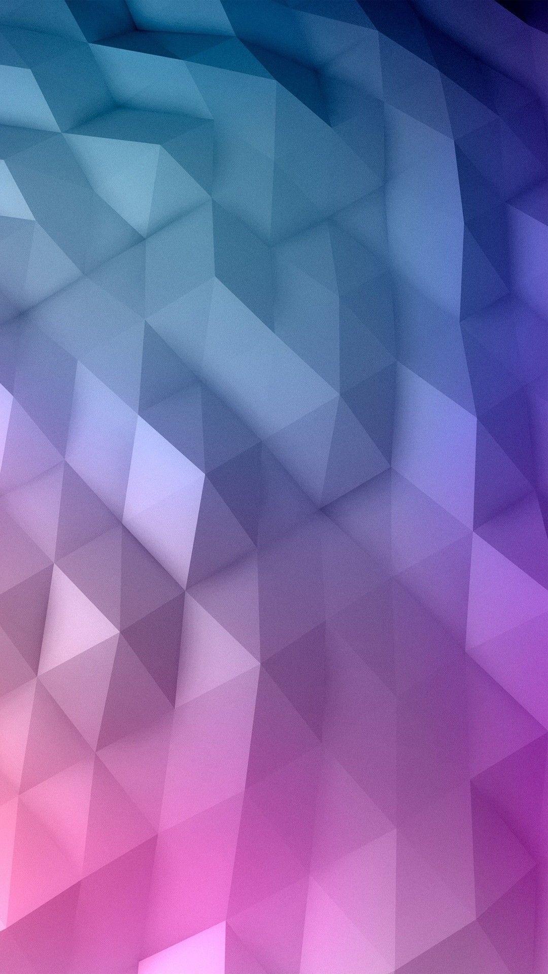 Gradient Geometry iPhone 7 wallpaper iPhone 8