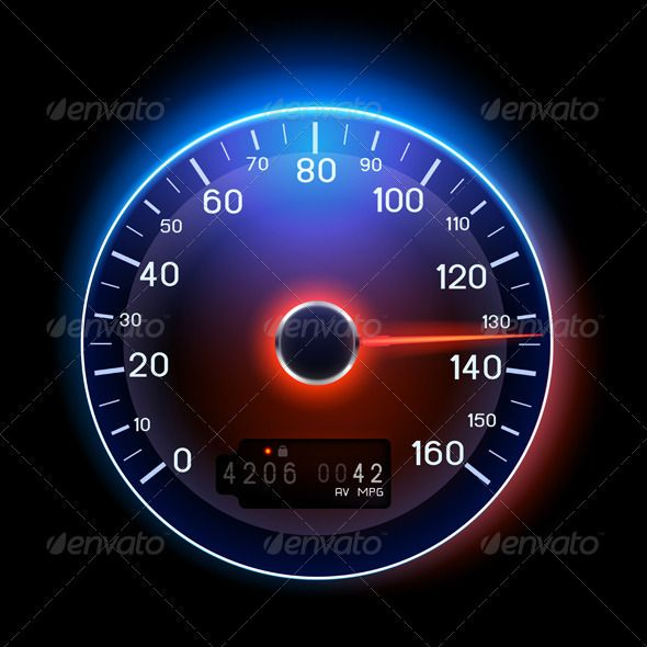 Vector Speedometer | GUI (Great UI) Collection | Dashboard