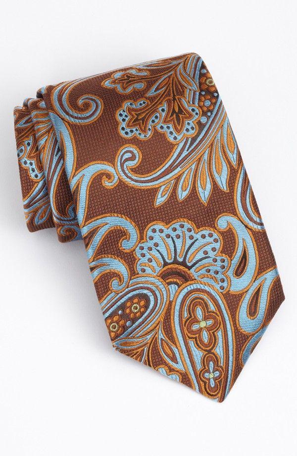Ted Baker London 'Tropical Paisley' Silk Tie. Nordstrom.