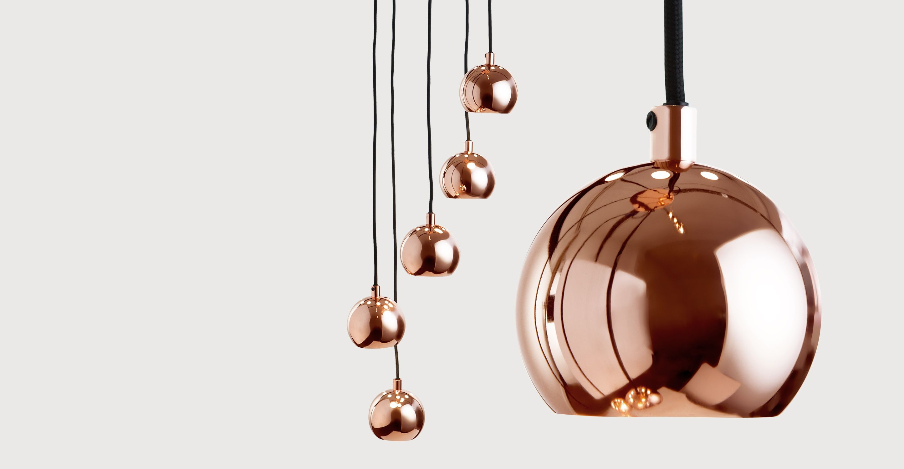 MADE Cluster Pendant, Copper. Express delivery. Austin Pendants ...