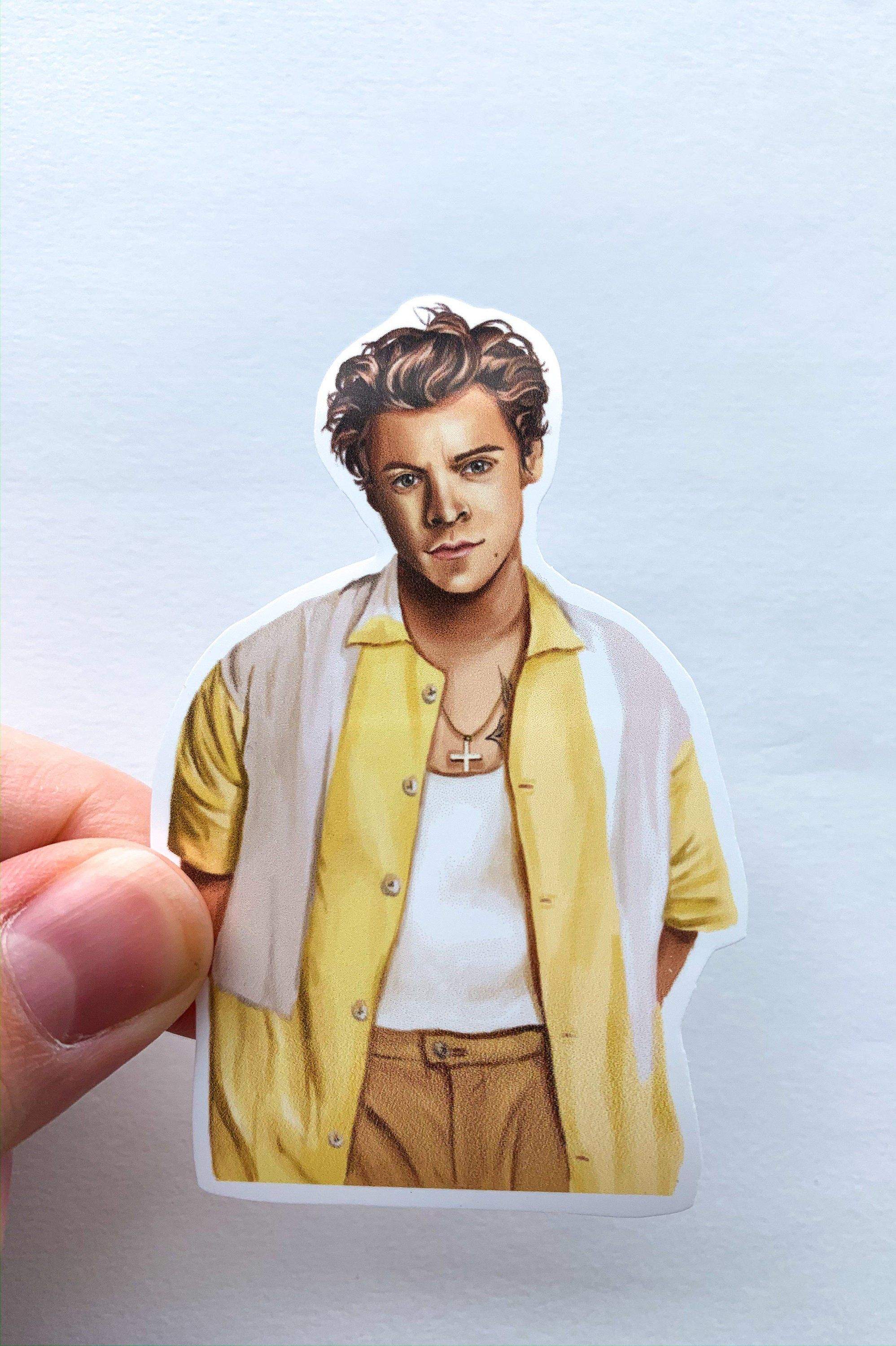 Harry Styles Sticker Harry Styles Art Fine Line Sticker