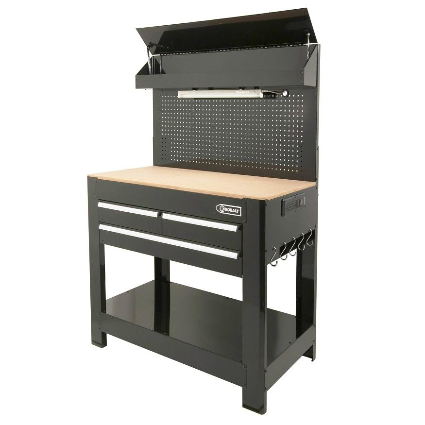 Kobalt Heavy Duty 3 Drawer Work Bench Home Goods Lowes Home Improvements Workbench