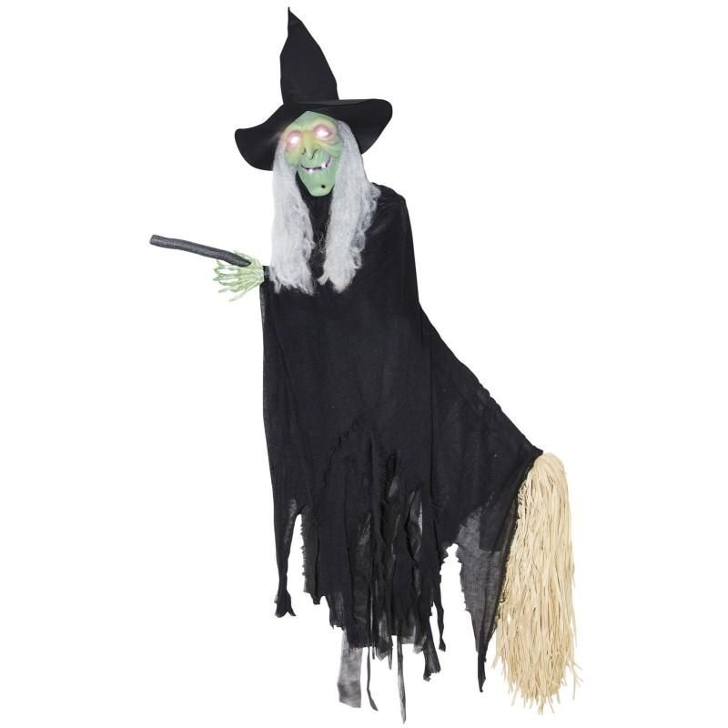 Best Animated Halloween Props - great ideas here -   - witch decorations