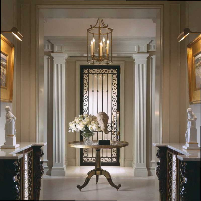 like the light foyer great example of an impressive way to welcome guests the enchanted home designer spotlight scott snyder - Foyer Designs Ideas