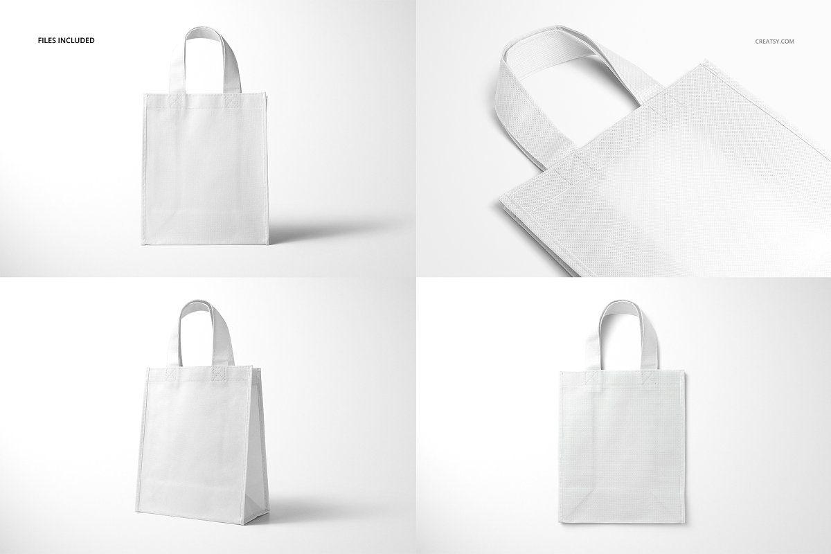 Download Non Woven Tote Bag Mockup Set Woven Tote Bag Bag Mockup Tote Bag