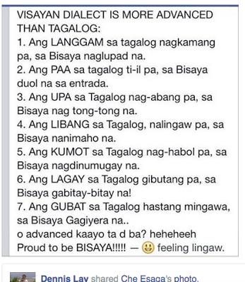 Binisaya Ug Uban Pa Mas Advance Ang Bisaya Funny Joke Quote Funny Images With Quotes Jokes Quotes