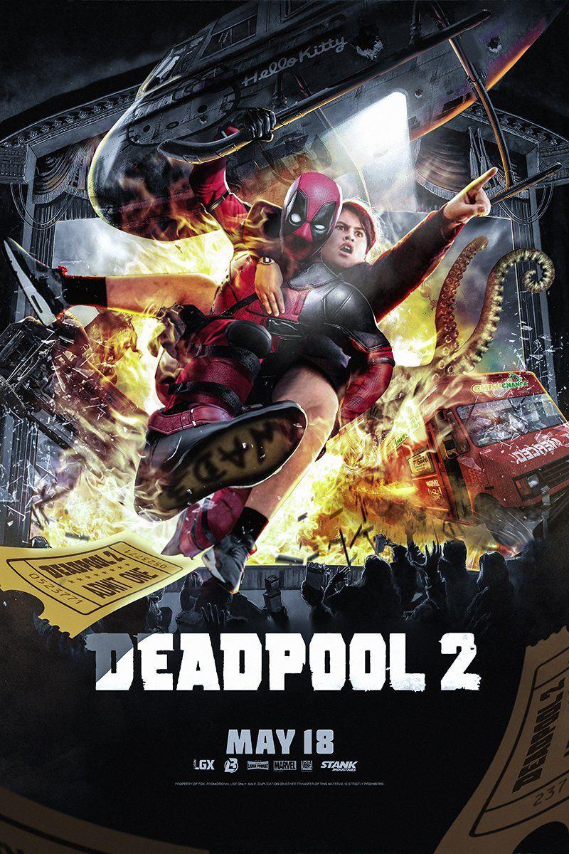 Deadpool 2 Poster By Bosslogic On Twitter Deadpool 2 Movie Deadpool Movie Deadpool