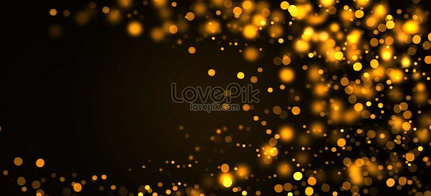 Black Gold Background Black Gold Light Spot Gold Circle Circle Light Star Light Floatation Bril Gold Background Background Images Colorful Backgrounds