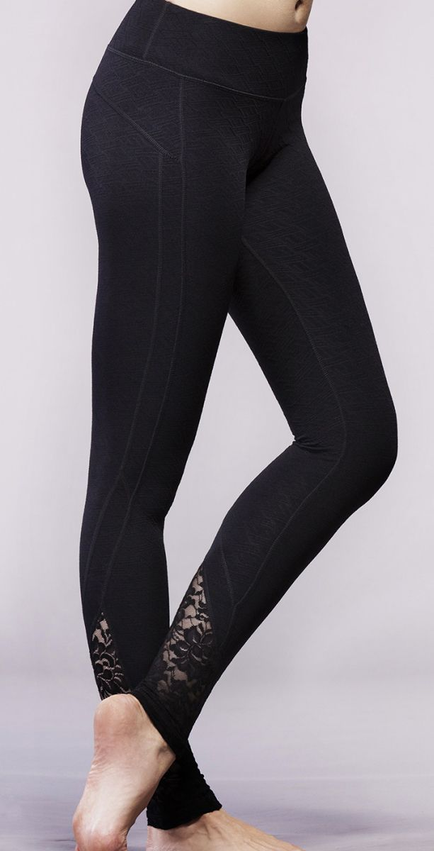 f106dbb8c2229 Lace workout leggings. I don't work out but I would wear these xD ...