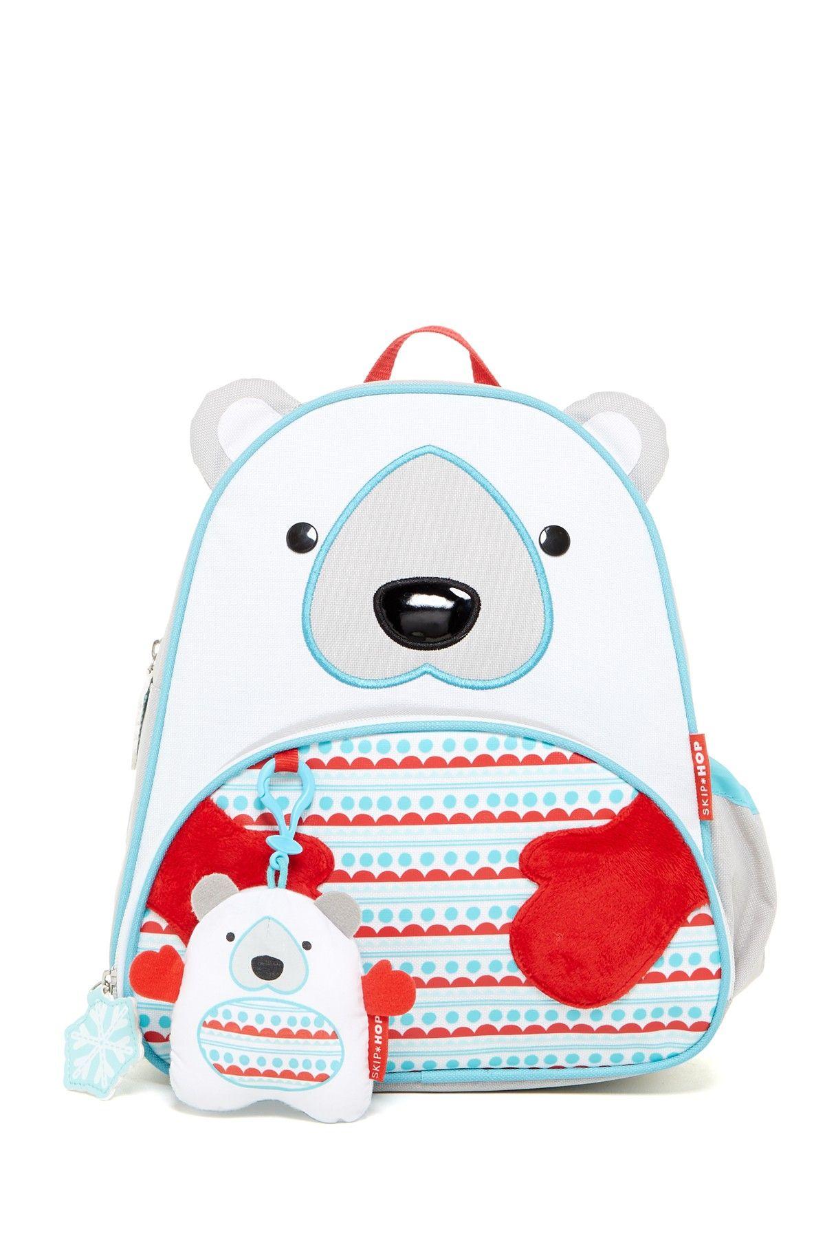 Polar bear backpack gift set backpack gift kids