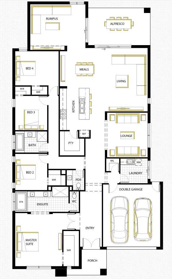 Dise o de casa de una planta con planos y fachadas - Caldaia per casa 3 piani ...