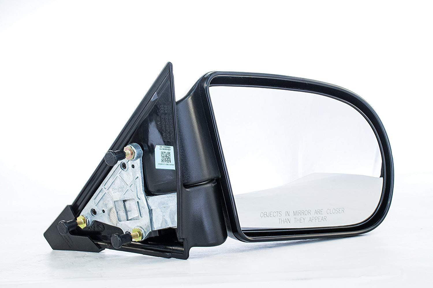 Dependable Direct Right Penger Side Smooth Black Non Heated Folding Door Mirror Chevy S10 Blazer
