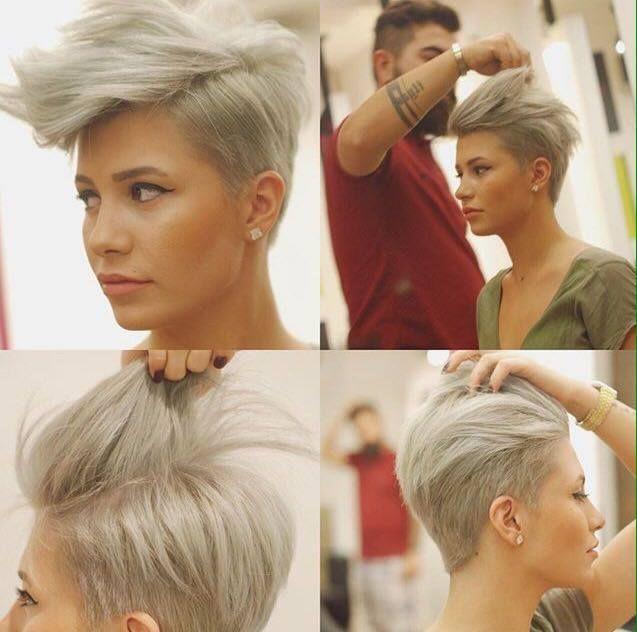 Wunderschone Kurzhaarfrisuren Fur Die Moderne Frau Neue Frisur Frisuren Kurzhaarschnitte Haarschnitt