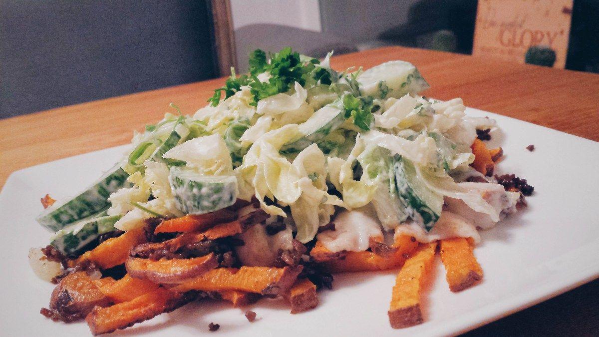 Sweet potato 'Kapsalon'