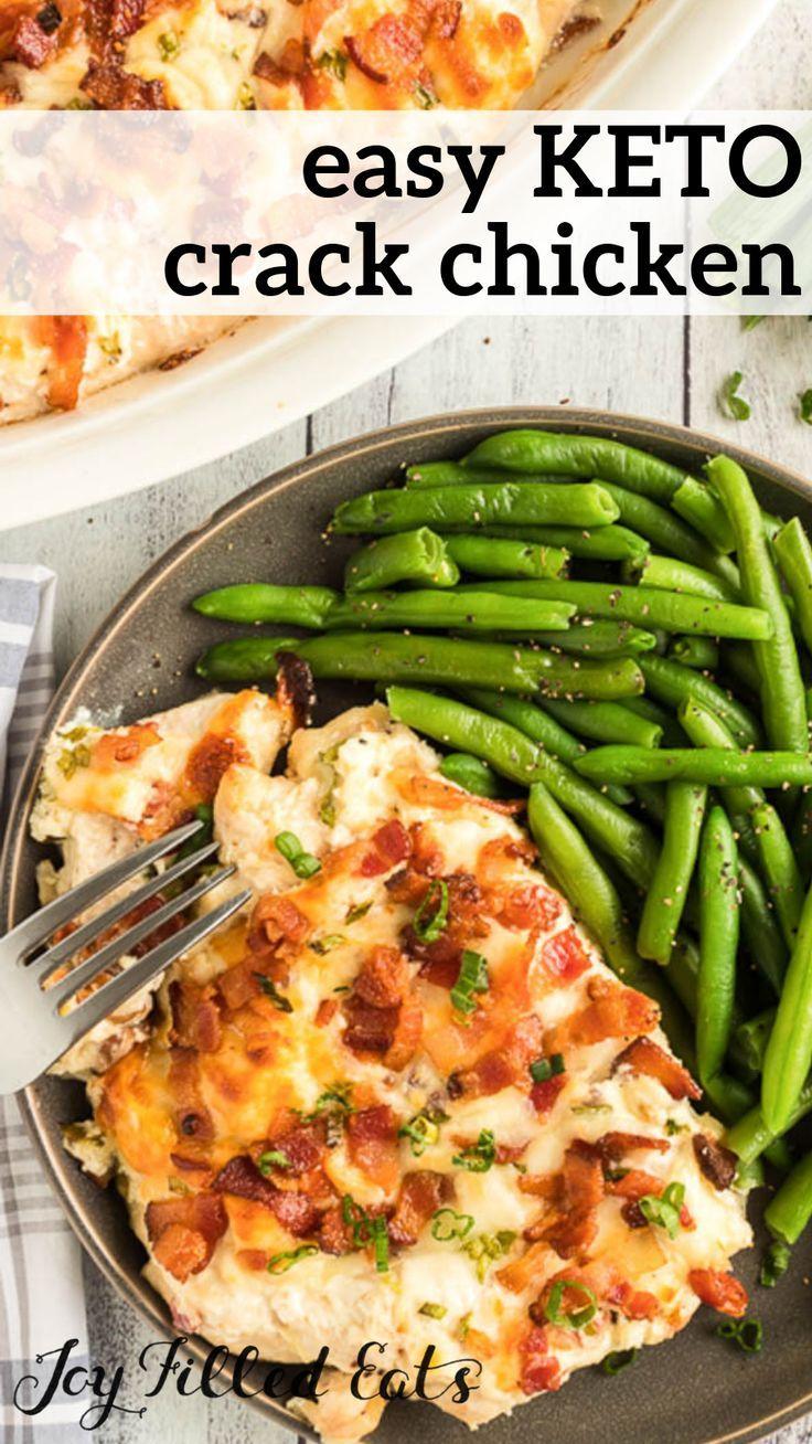 Crack Chicken Recipe - Low Carb, Keto, Gluten-Free, Grain-Free, THM S