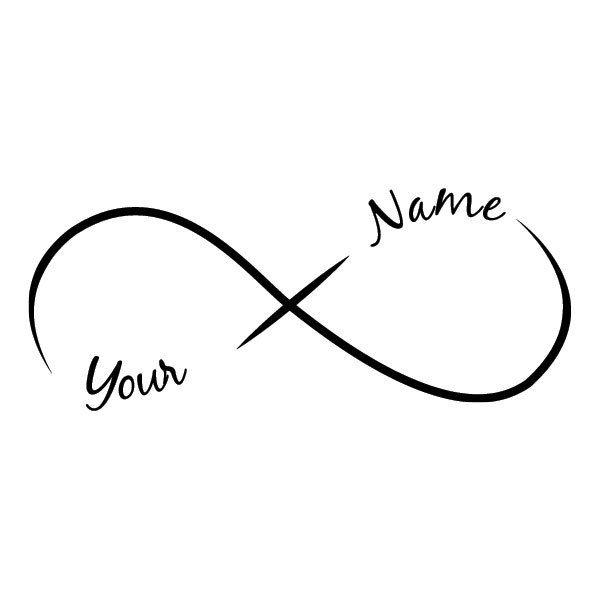 Or This Infinity Tattoo Infinity Tattoos Name Tattoos