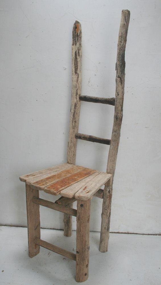 Driftwood chair drift wood unique chair feature chair garden dining chair unique chairs in - Chaise bois flotte ...