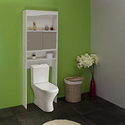 Symbiosis 6090A2121A17 - Armadietto da bagno, colore: Bianco/Grigio talpa: Amazon.it: Casa e cucina