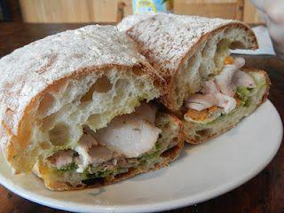 Porchetta Sandwich (La Ghianda - Vancouver, BC)