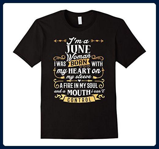 c31535a2280 Mens I m a June Woman T-Shirt Birthday Gift Shirt Large Black - Birthday  shirts ( Amazon Partner-Link)