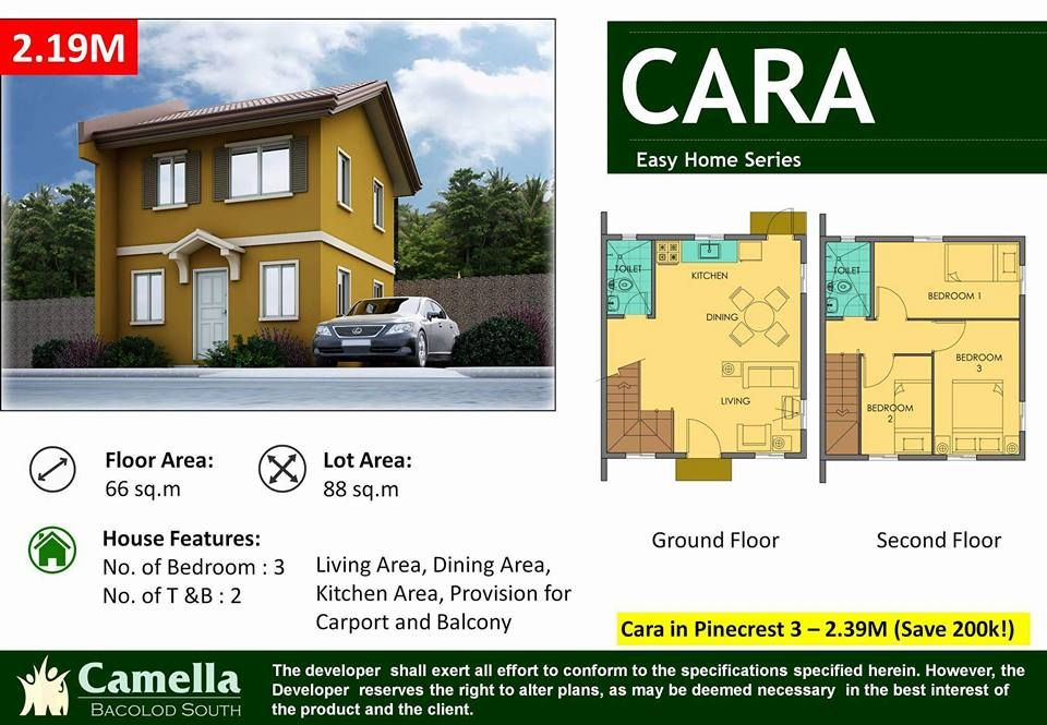 Camella Homes Camella Homes Bacolod With Images House