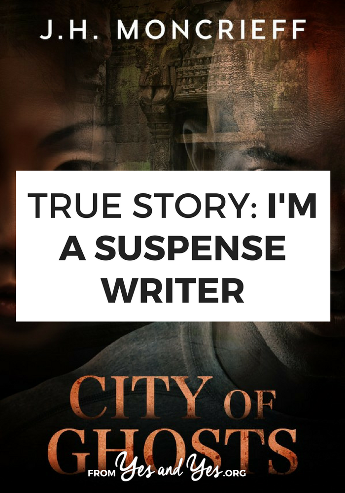 What it's like to be a full-time suspense writer.
