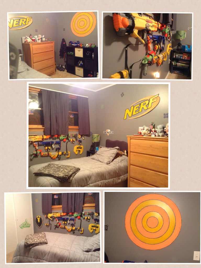 Cool Nerf Room