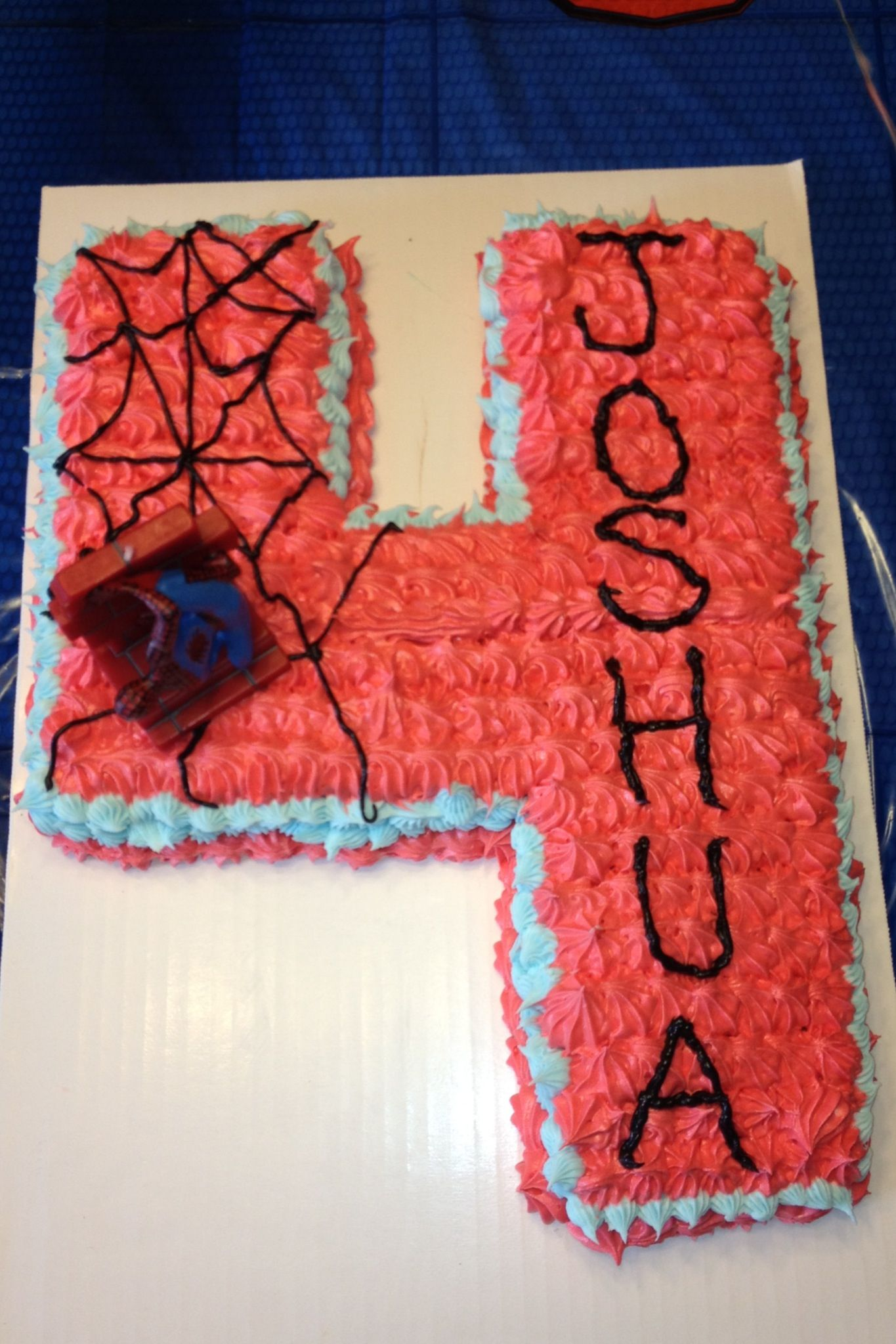 Photo Only Spiderman Birthday Cake For 4 Year Old With Images