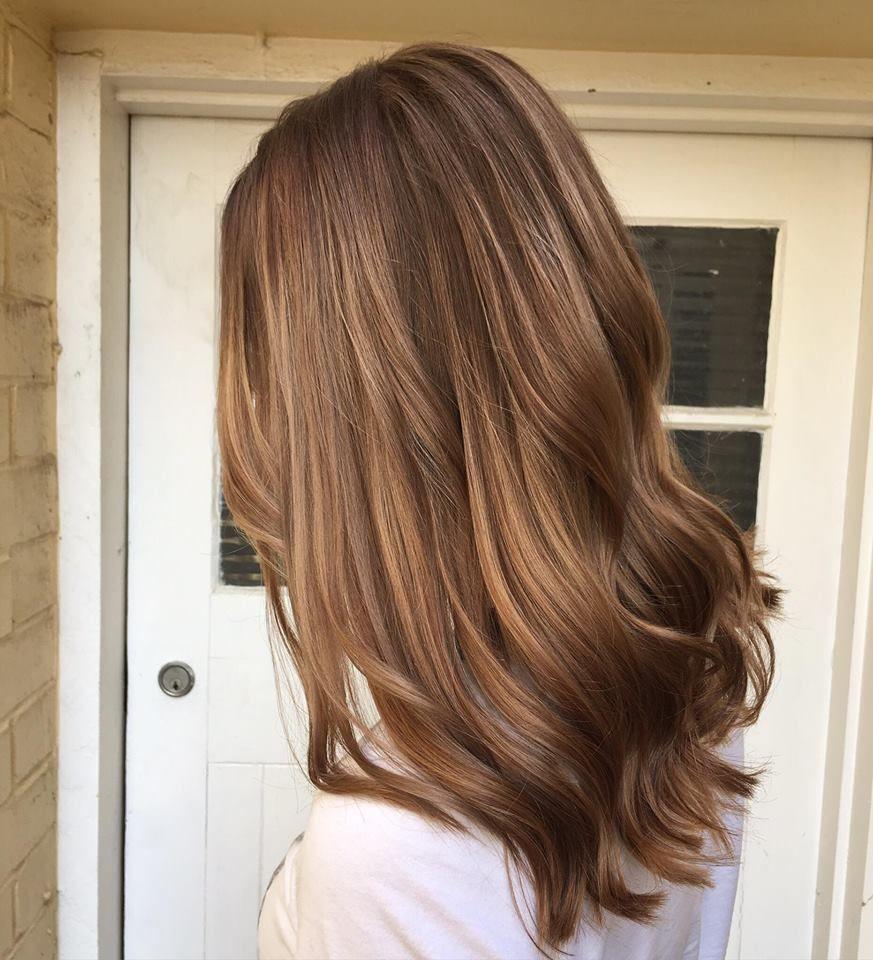 Empress Hair Sandgate - Amy - Warm Balayage Curls