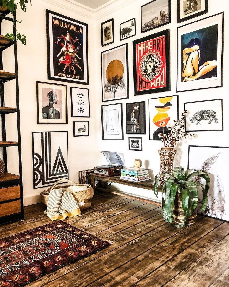 How to design a gallery wall to match your home decor style