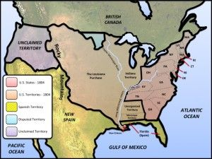 Map Of Us 1804 United States – 1804 Map | Us geography, History resources, World