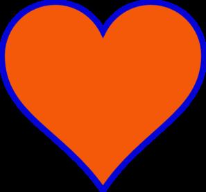 Style Guide Clker Blue Orange Blue Heart Love Blue