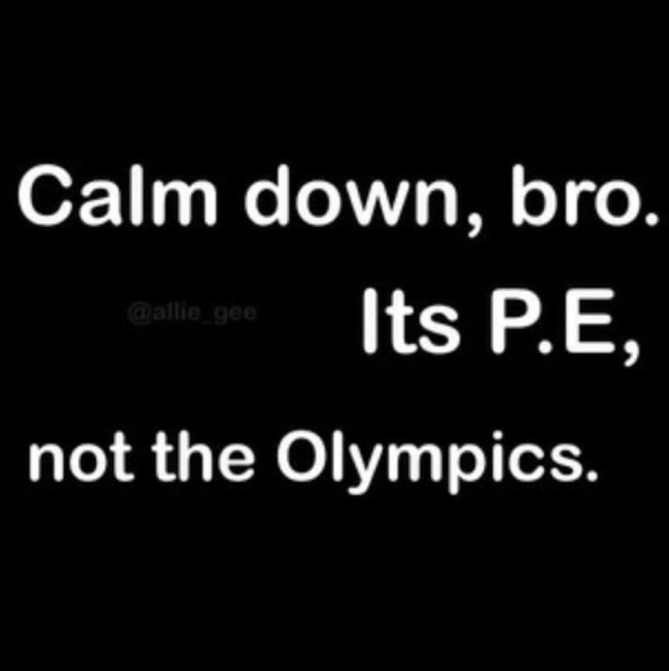 Physical Education Funny Quotes