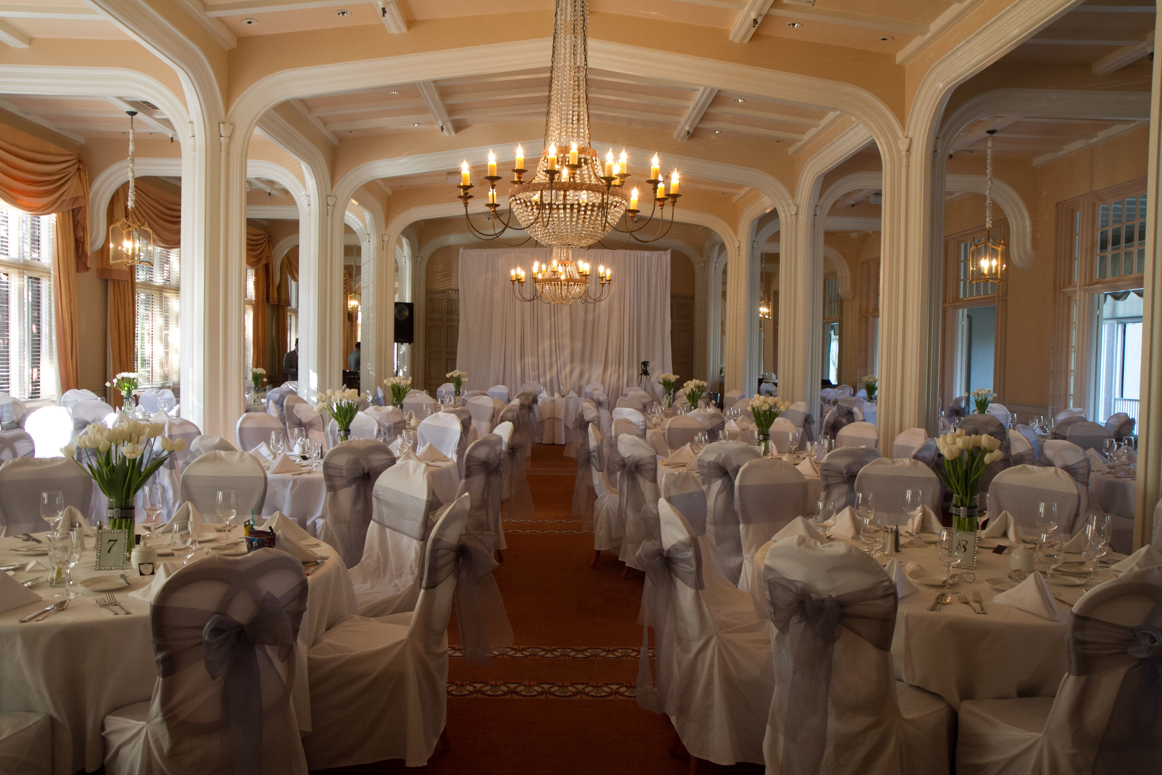 Reception - Main Dining Room | Wedding table, Table ...